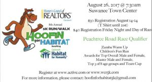 WCR 8th Annual 5K Run/Walk @ Suwanee Town Center